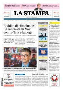 La Stampa Torino Provincia e Canavese - 18 Settembre 2018