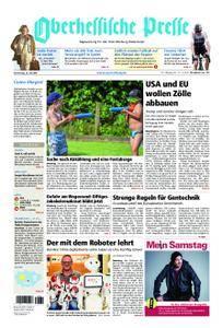 Oberhessische Presse Marburg/Ostkreis - 26. Juli 2018