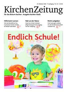 KirchenZeitung für das Bistum Aachen – 25. Oktober 2020