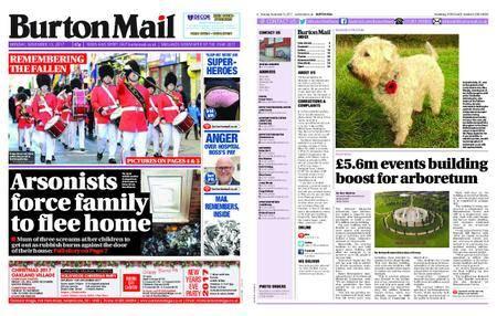 Burton Mail – November 13, 2017
