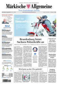 Neue Oranienburger Zeitung - 30. August 2018
