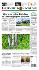 Greenfield Recorder - 29 July 2021