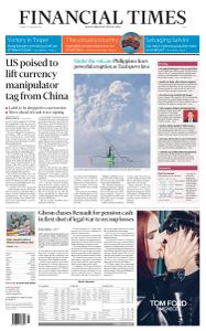 Financial Times Asia - January 14, 2020