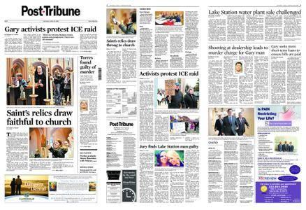 Post-Tribune – April 28, 2018