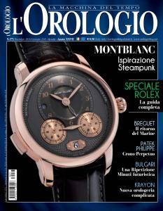 l'Orologio N.273 - Dicembre 2018 - Gennaio 2019
