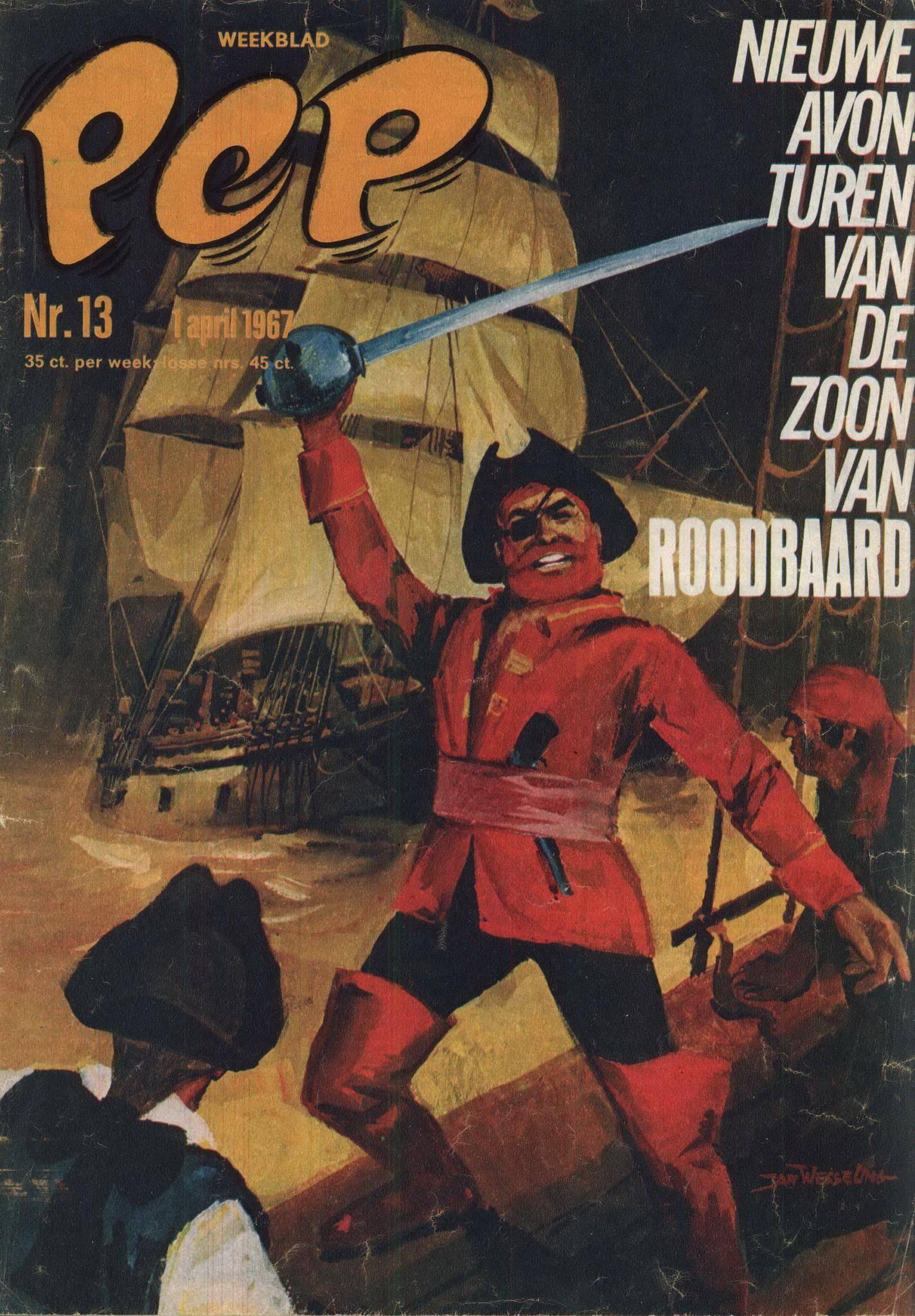 weekblad 1334 Pep Weekblad 1967 13 cbr