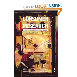 Consumer Research: Postcards From the Edge