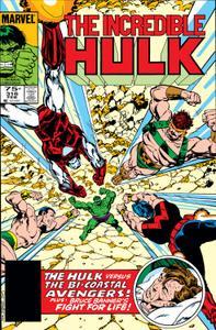 Incredible Hulk 316 1986