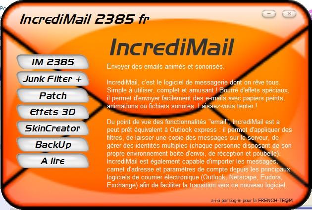 A.I.O IncrediMail 2385 Fr