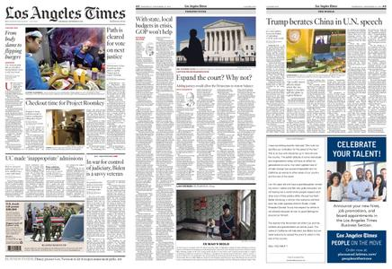 Los Angeles Times – September 23, 2020
