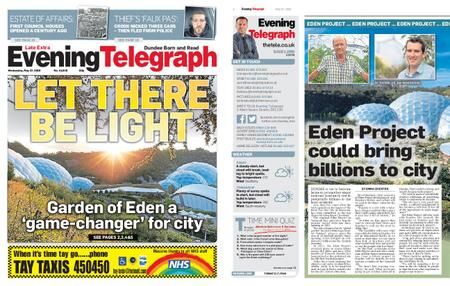 Evening Telegraph First Edition – May 27, 2020