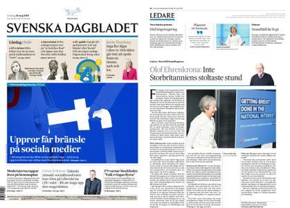 Svenska Dagbladet – 18 maj 2019