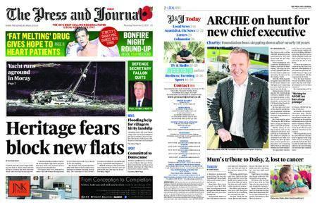 The Press and Journal Moray – November 02, 2017