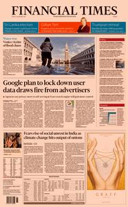 Financial Times Europe – 15 November 2019
