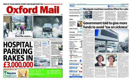 Oxford Mail – December 28, 2017