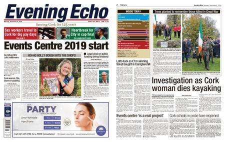 Evening Echo – November 05, 2018