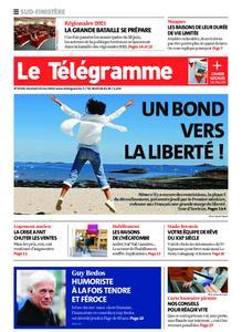 Le Télégramme Ouest Cornouaille – 29 mai 2020