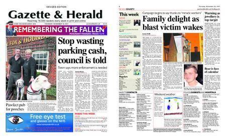 Gazette & Herald – November 16, 2017