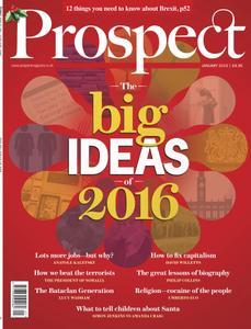 Prospect Magazine - January 2016