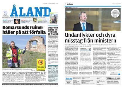 Ålandstidningen – 22 september 2018