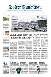 Sylter Rundschau - 05. November 2018