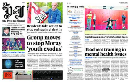 The Press and Journal Moray – October 15, 2018