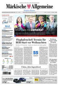 Märkische Allgemeine Prignitz Kurier - 18. November 2017