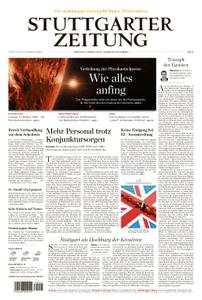 Stuttgarter Zeitung Kreisausgabe Esslingen - 09. Oktober 2019