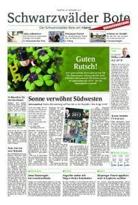 Schwarzwälder Bote St. Georgen, Triberg, Furtwangen - 30. Dezember 2017