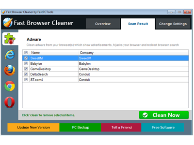Fast Browser Cleaner 2.0.0.2