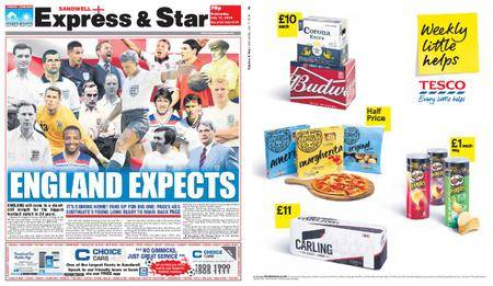 Express and Star Sandwell Edition – July 11, 2018