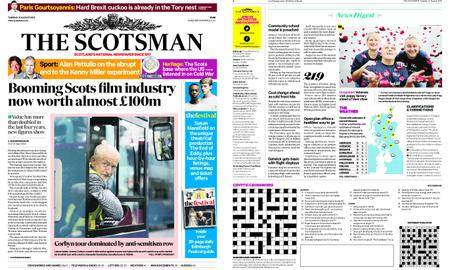 The Scotsman – August 21, 2018