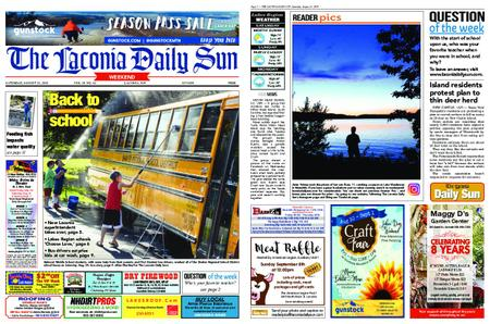The Laconia Daily Sun – August 31, 2019