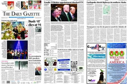 The Daily Gazette – December 01, 2018
