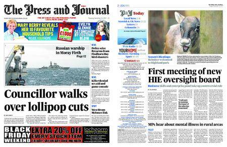 The Press and Journal Moray – November 21, 2017