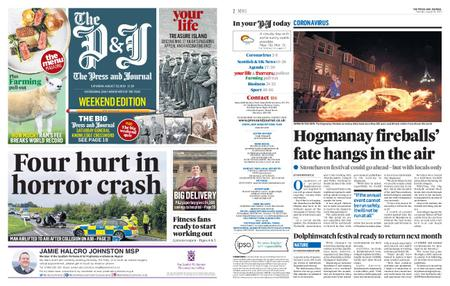 The Press and Journal Moray – August 29, 2020