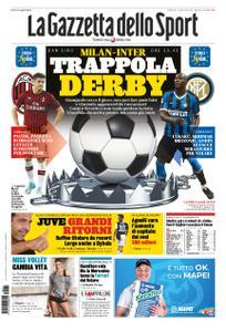 La Gazzetta dello Sport Roma – 21 settembre 2019
