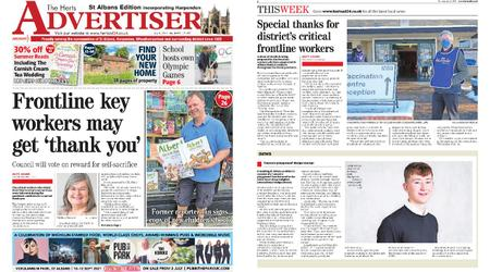 The Herts Advertiser – July 08, 2021