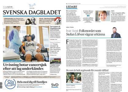 Svenska Dagbladet – 13 juli 2018