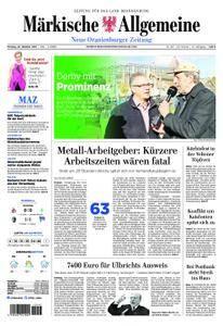 Neue Oranienburger Zeitung - 23. Oktober 2017