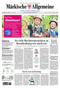 Märkische Allgemeine Luckenwalder Rundschau - 20. Juni 2019