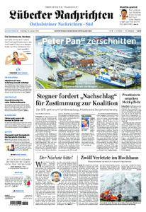 Lübecker Nachrichten Ostholstein Süd - 23. Januar 2018