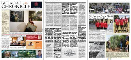 Gibraltar Chronicle – 08 May 2018