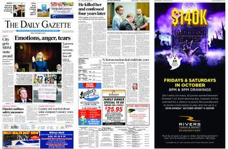 The Daily Gazette – September 28, 2018