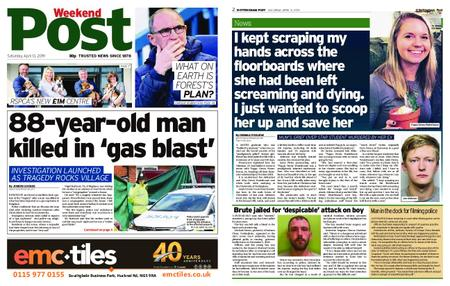 Nottingham Post – April 13, 2019