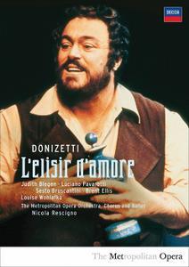 Nicola Rescigno, Metropolitan Opera Orchestra, Luciano Pavarotti - Donizetti: L'elisir d'amore (2008/1981)