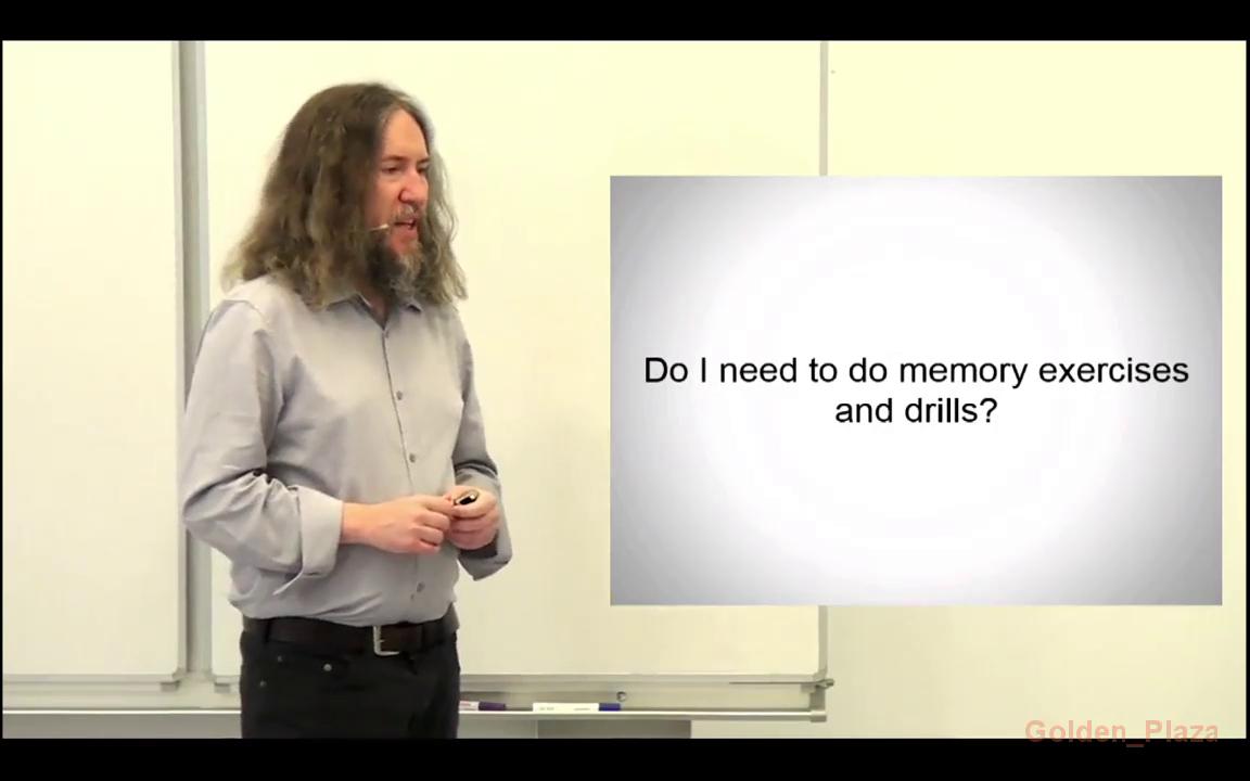 Anthony Metivier - Memory Masterclass