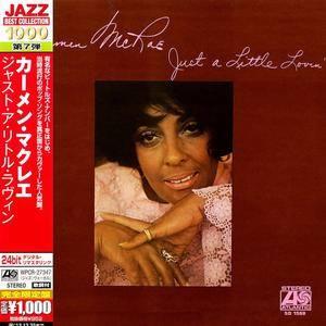 Carmen McRae - Just A Little Lovin' (1970) [Japanese Ed. 2013]