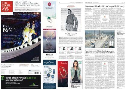 The Globe and Mail – February 10, 2018
