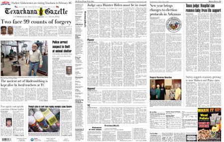 The Texarkana Gazette – January 03, 2020